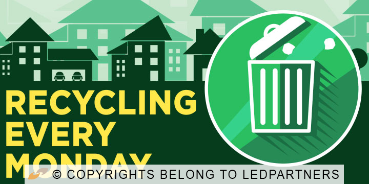 Recycling Every Monday HOA