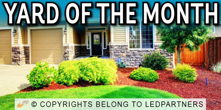 Yard of the Month HOA