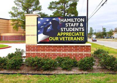 Hamilton Middle School, Cy-Fair ISD