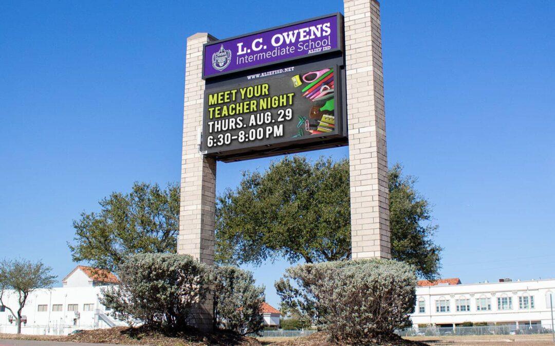 L.C. Owens Intermediate School, Alief ISD