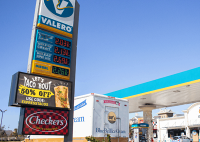 Now and Forever, Valero Gas Station