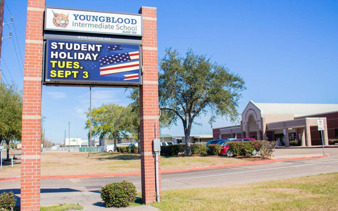 Youngblood Intermediate School, Alief ISD