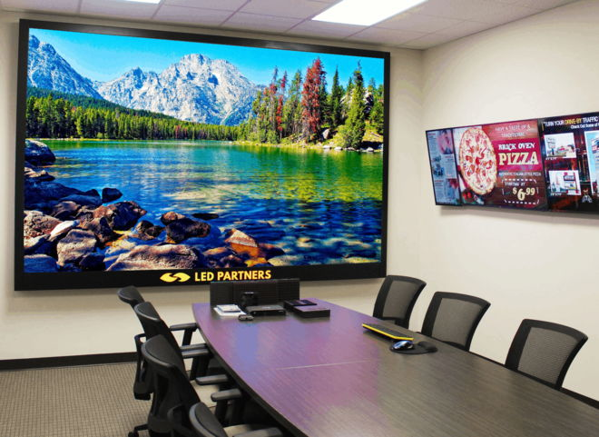 Upgraded Conference Room Video Wall