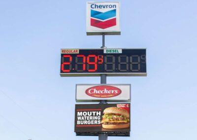Chevron Gas Station, Cove TX